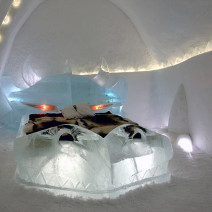 A luxury holiday in an Ice Hotel in Sweden