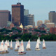 Visit the east coast city of Boston in May