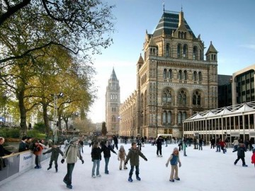 where to ice skate in London