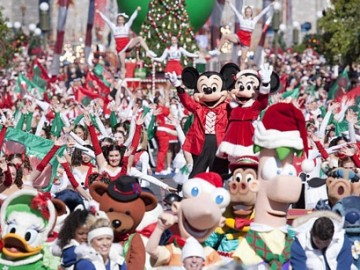 Disney world christmas day