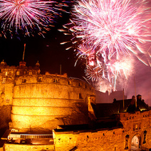 A festival filled holiday in Edinburgh, Scotland