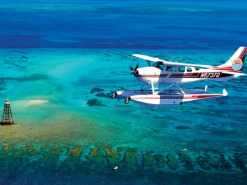 Little-Palm-Island---Sea-Plane---Florida-Keys