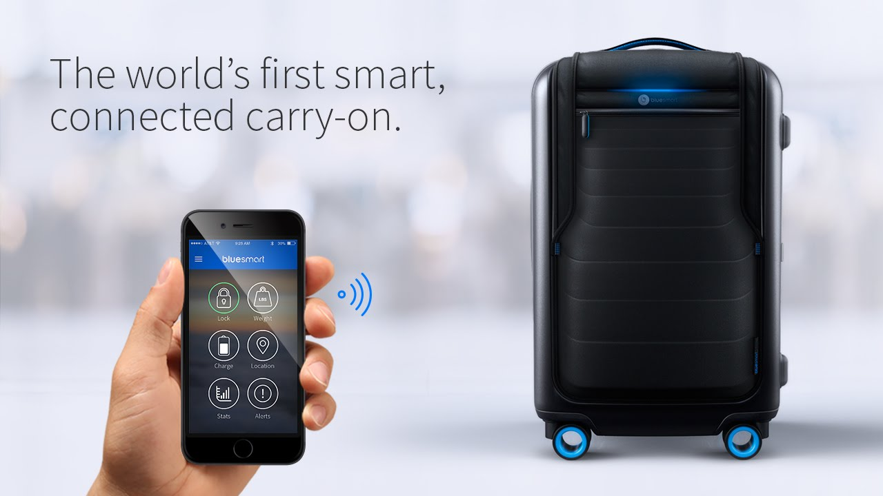 Smart suitcases