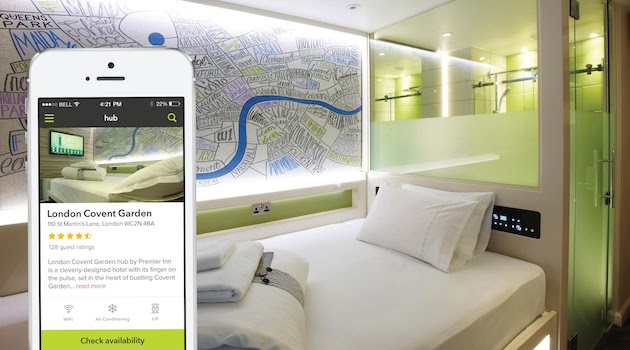 Smart hotel app
