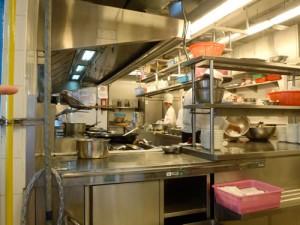 Chatrium Riverside hotel kitchens