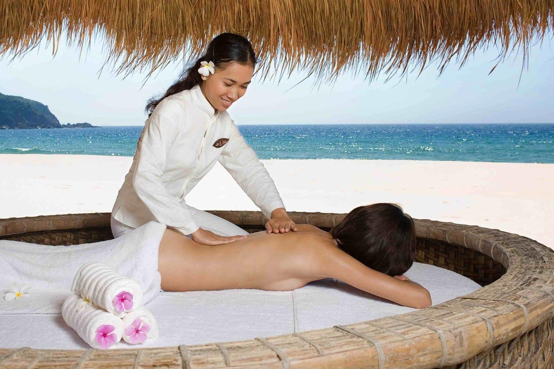Massage treatments to unwind