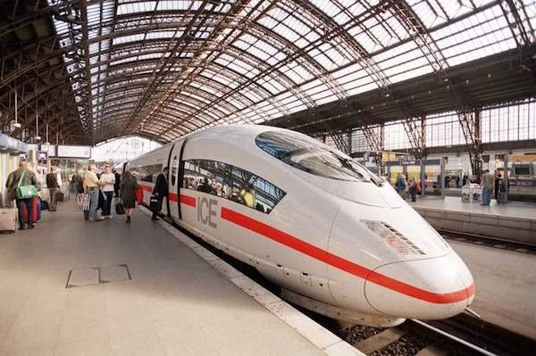 Take the train in Germany